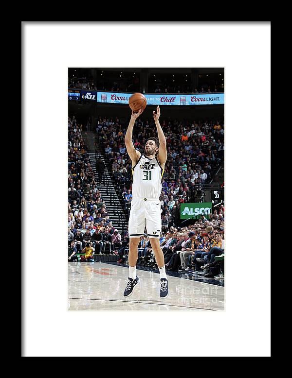 Nba Pro Basketball Framed Print featuring the photograph Oklahoma City Thunder V Utah Jazz by Melissa Majchrzak