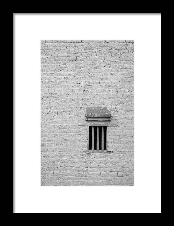 Toughness Framed Print featuring the photograph Old Prison by Blackred