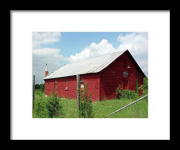 Old Royal Chapel Church Framed Print featuring the photograph Old Royal Chapel Church by Audrey