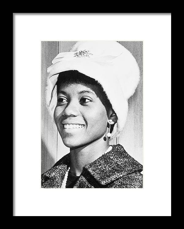 The Olympic Games Framed Print featuring the photograph Olympic Star Wilma Rudolph by Bettmann