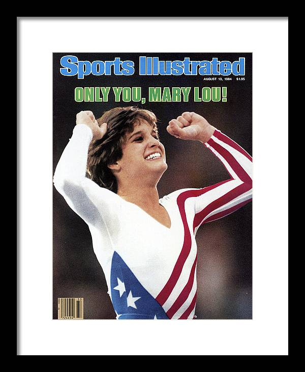 Magazine Cover Framed Print featuring the photograph Only You, Mary Lou Sports Illustrated Cover by Sports Illustrated