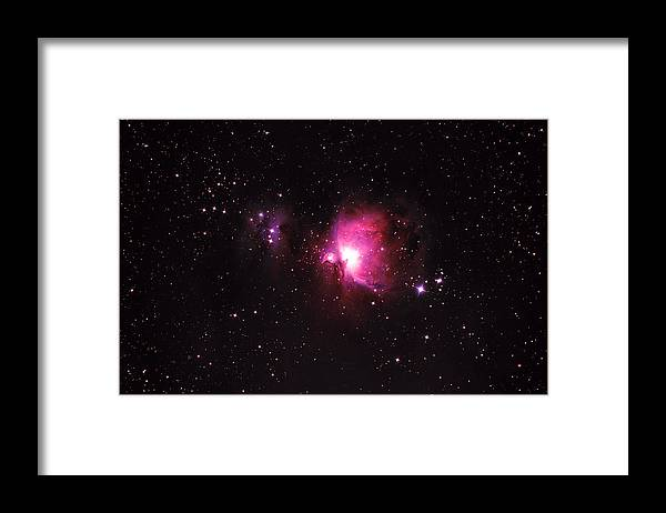 Natural Gas Framed Print featuring the photograph Orion Nebula by Plefevre