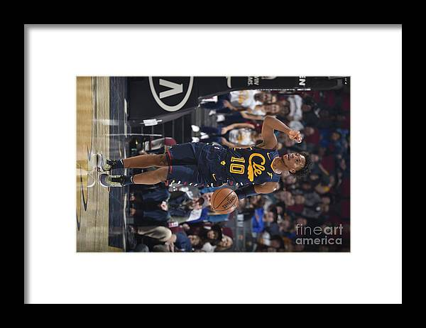 Nba Pro Basketball Framed Print featuring the photograph Orlando Magic V Cleveland Cavaliers by David Liam Kyle