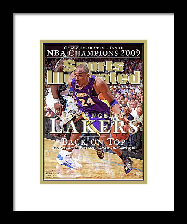 Playoffs Framed Print featuring the photograph Orlando Magic Vs Los Angeles Lakers, 2009 Nba Finals Sports Illustrated Cover by Sports Illustrated