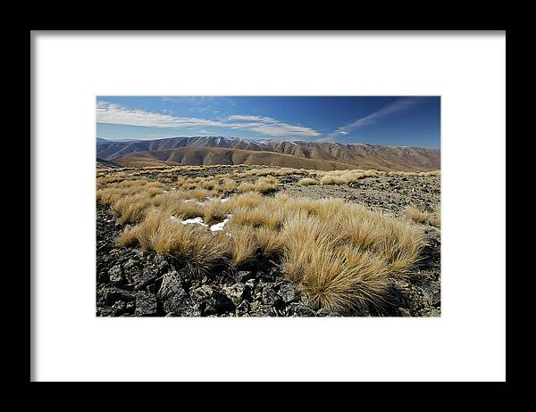 Tranquility Framed Print featuring the photograph Oteake by Sven Klerkx