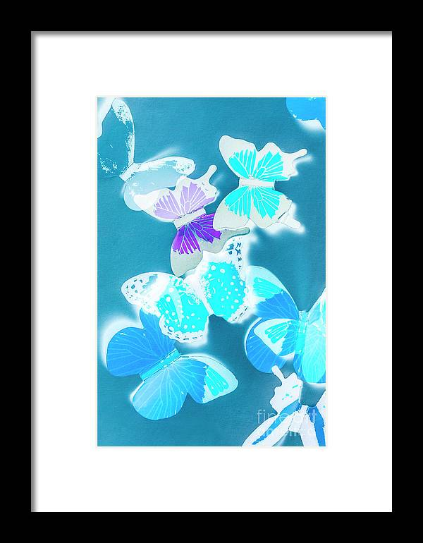 Blue Framed Print featuring the photograph Out Of The Blue by Jorgo Photography - Wall Art Gallery