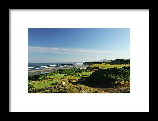 Viewpoint Framed Print featuring the photograph Pacific Dunes 13th by David Cannon