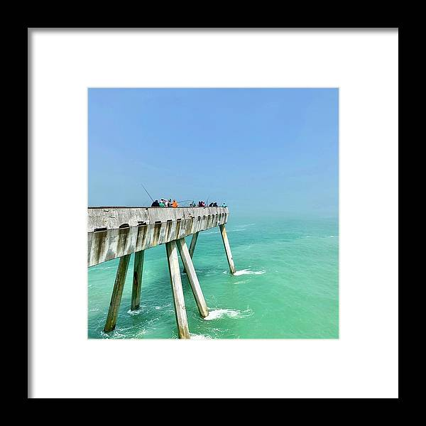 Pier Framed Print featuring the photograph Pacifica Pier 2 by Julie Gebhardt