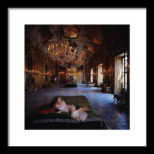 1980-1989 Framed Print featuring the photograph Palazzo Gangi by Slim Aarons