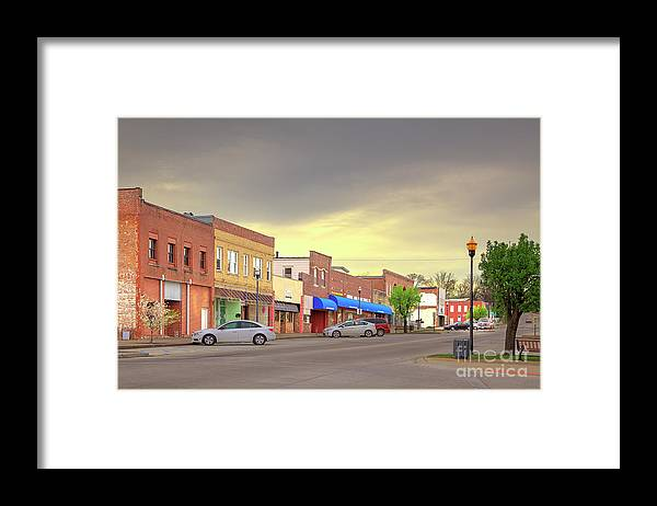 Explore Framed Print featuring the photograph Park Hills Missouri by Larry Braun
