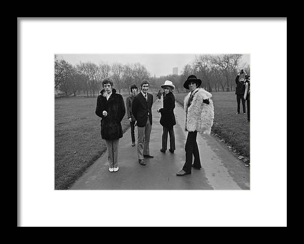 Rock Music Framed Print featuring the photograph Park Stones by Roger Jackson