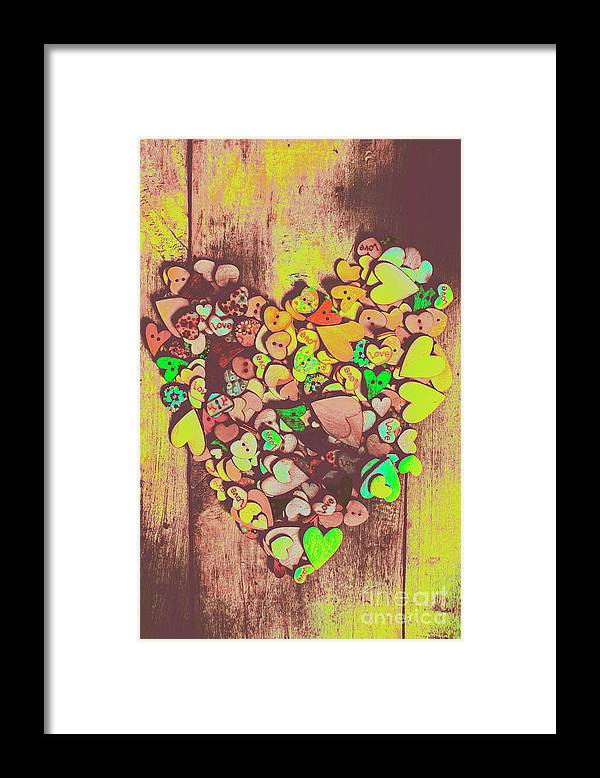 Heart Framed Print featuring the photograph Passion For Fashion by Jorgo Photography - Wall Art Gallery