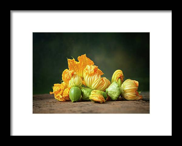 Healthy Eating Framed Print featuring the photograph Patty Pans by Jojo1 Photography