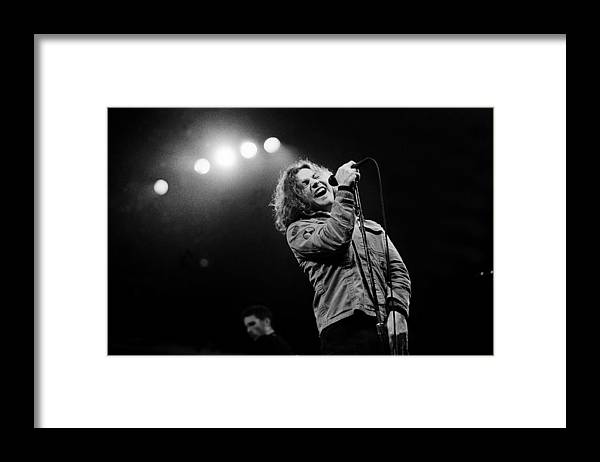 Singer Framed Print featuring the photograph Paul Natkin Archive by Paul Natkin
