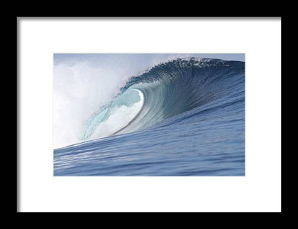 Spray Framed Print featuring the photograph Perfect Wave by Reniw-imagery