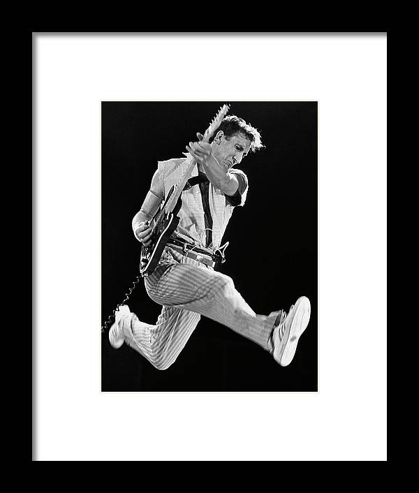 Rock Music Framed Print featuring the photograph Pete Townshend Of The Who by George Rose