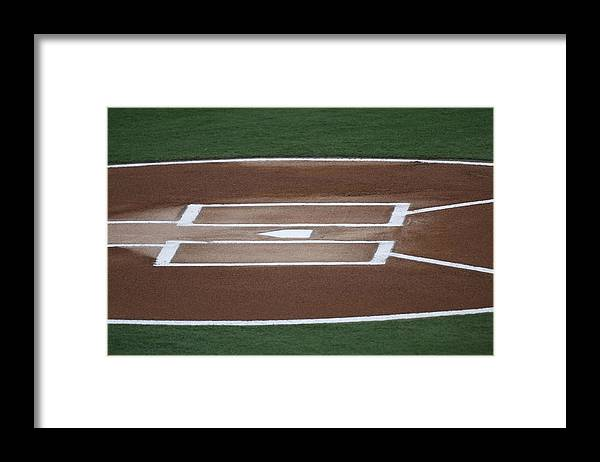 Hard Rock Stadium Framed Print featuring the photograph Phladelphia Phillies V Florida Marlins by Ronald C. Modra/sports Imagery