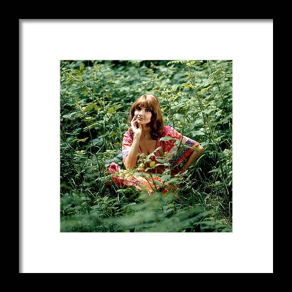 Music Framed Print featuring the photograph Photo Of 70s Style by David Redfern
