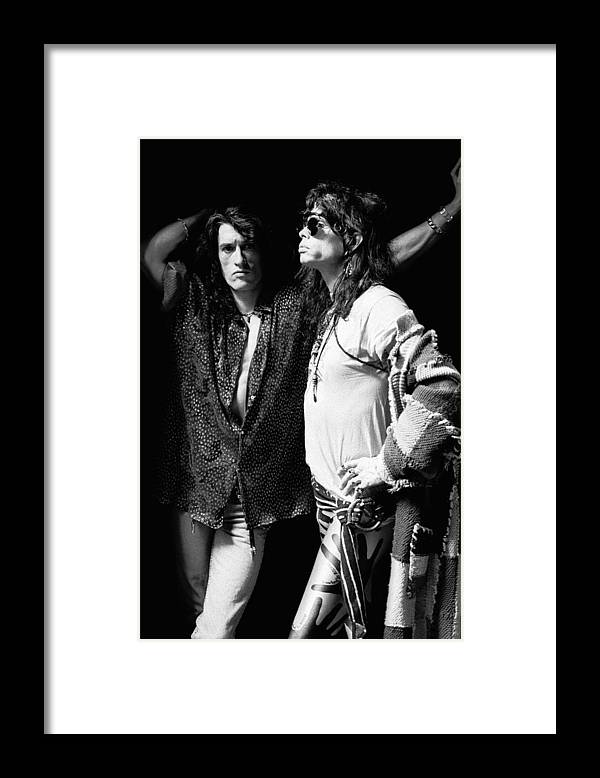 Music Framed Print featuring the photograph Photo Of Aerosmith by Paul Bergen