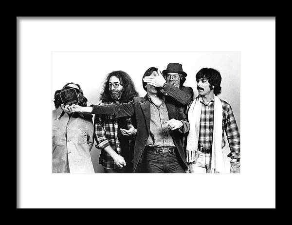 Music Framed Print featuring the photograph Photo Of Grateful Dead by Richard Mccaffrey