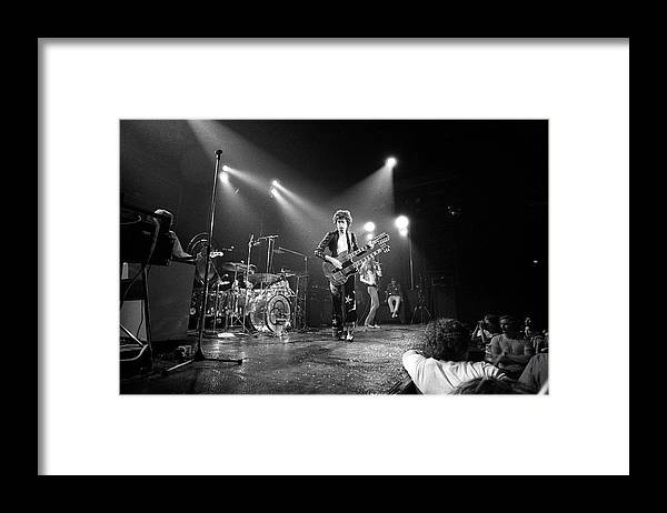 Led Zeppelin Framed Print featuring the photograph Photo Of Led Zeppelin And Robert Plant by David Redfern