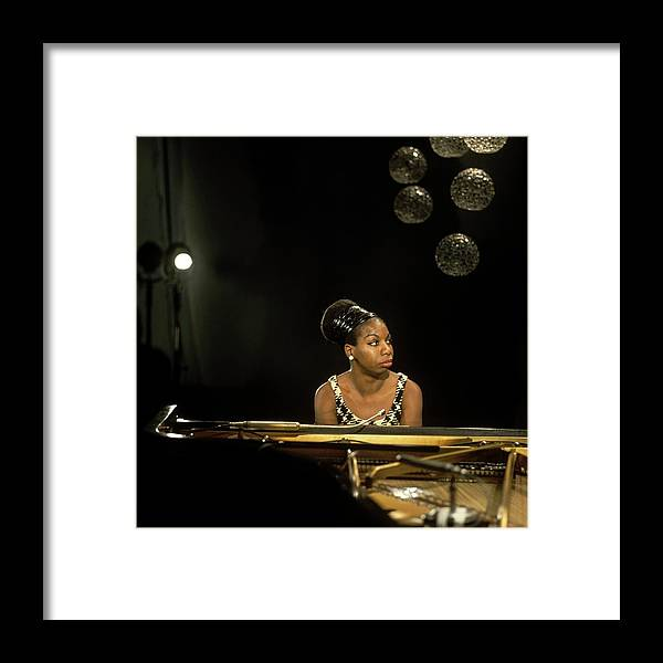 Nina Simone Framed Print featuring the photograph Photo Of Nina Simone by David Redfern