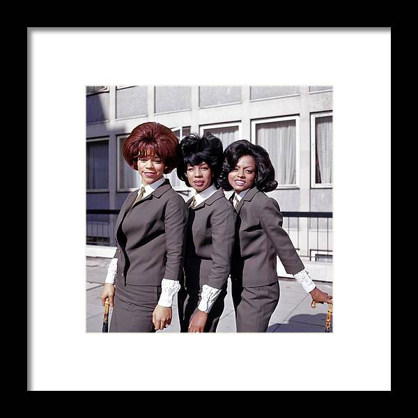 Mary Wilson Framed Print featuring the photograph Photo Of Supremes And Florence Ballard by Ca