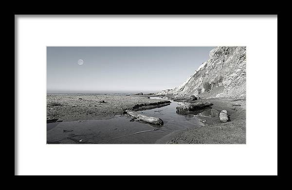 California Framed Print featuring the photograph Point Arena Beach California by Betsy Knapp