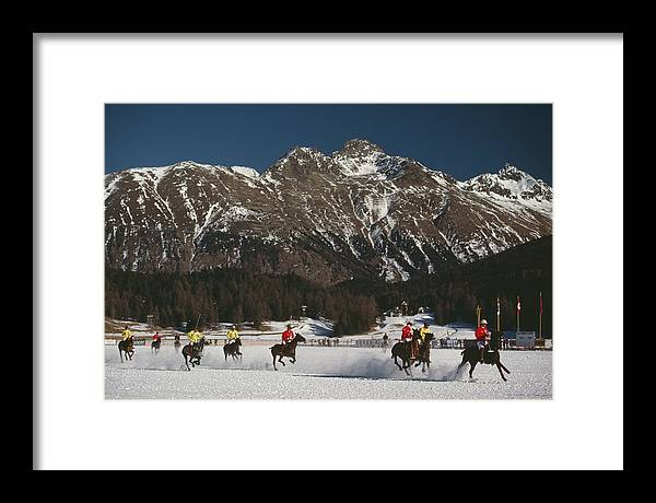 Horse Framed Print featuring the photograph Polo World Cup by Slim Aarons
