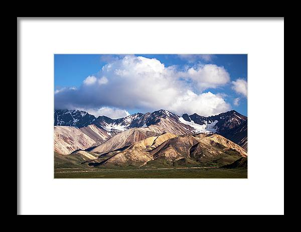 Tranquility Framed Print featuring the photograph Polychrome Overlook View by Daniel A. Leifheit