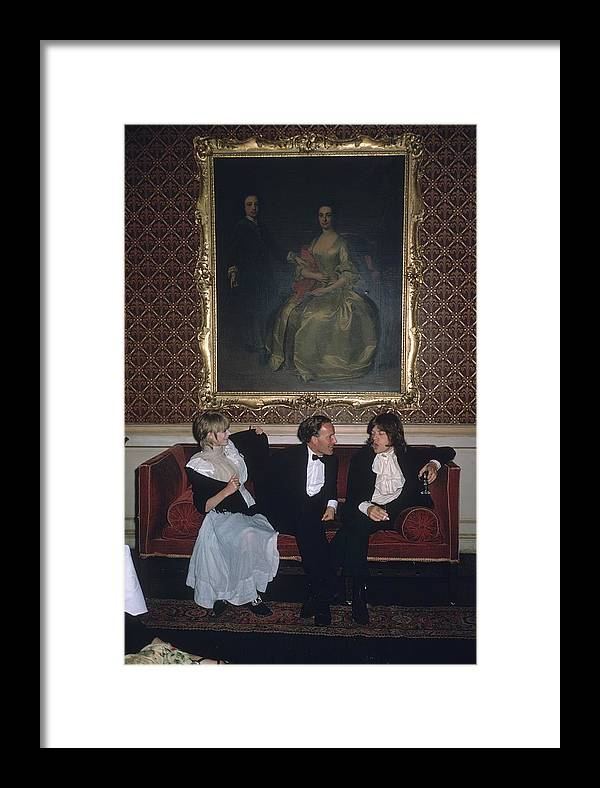 Rock Music Framed Print featuring the photograph Pop And Society by Slim Aarons