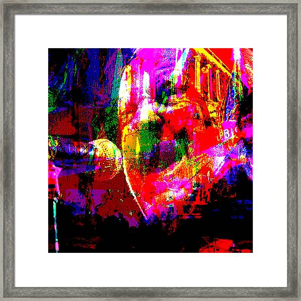 Music Framed Print featuring the mixed media Portait Joe Cocker by Lee Eggstein