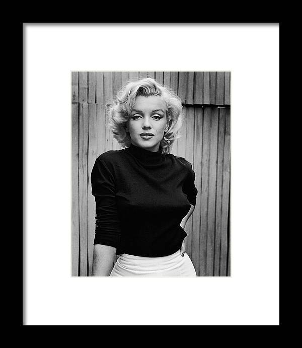 Timeincown Framed Print featuring the photograph Portrait Of Marilyn Monroe by Alfred Eisenstaedt