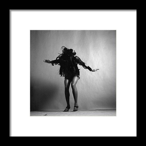 Singer Framed Print featuring the photograph Portrait Of Tina Turner by Jack Robinson
