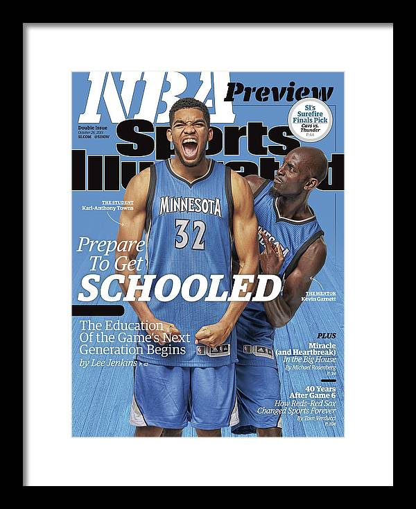 Magazine Cover Framed Print featuring the photograph Prepare To Get Schooled, The Education Of The Games Next Sports Illustrated Cover by Sports Illustrated