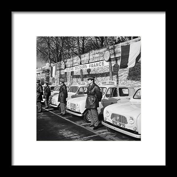 Journey Framed Print featuring the photograph Presentation Of The 4l Of Touring by Keystone-france