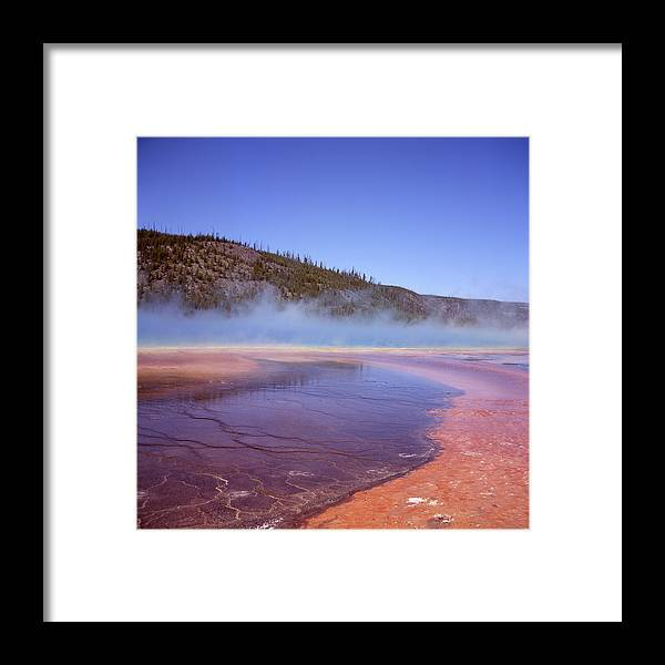 Tranquility Framed Print featuring the photograph Prismatic Spring Algae by L. Maile Smith