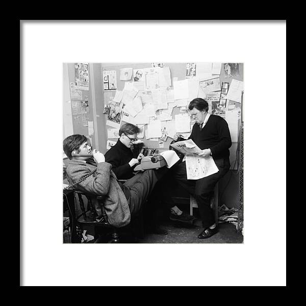 People Framed Print featuring the photograph Private Eyes by John Pratt