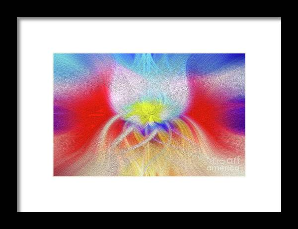 Art Print Framed Print featuring the digital art Prominence Personified by Kenneth Montgomery