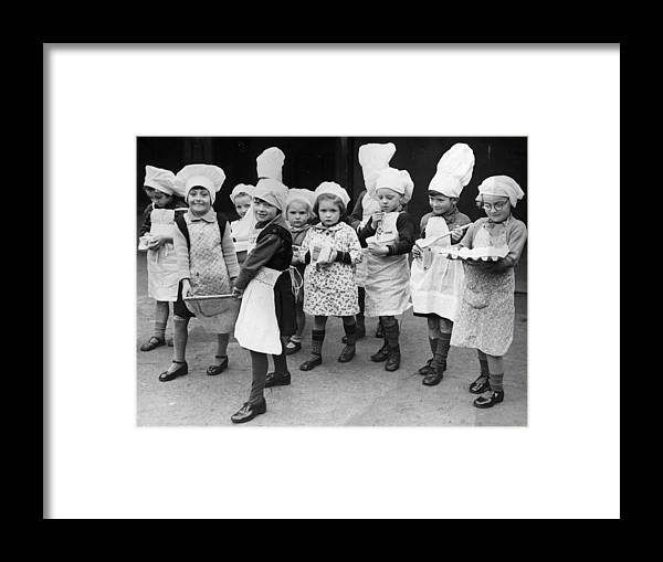 Cooking Utensil Framed Print featuring the photograph Pudding Supplies by Fox Photos