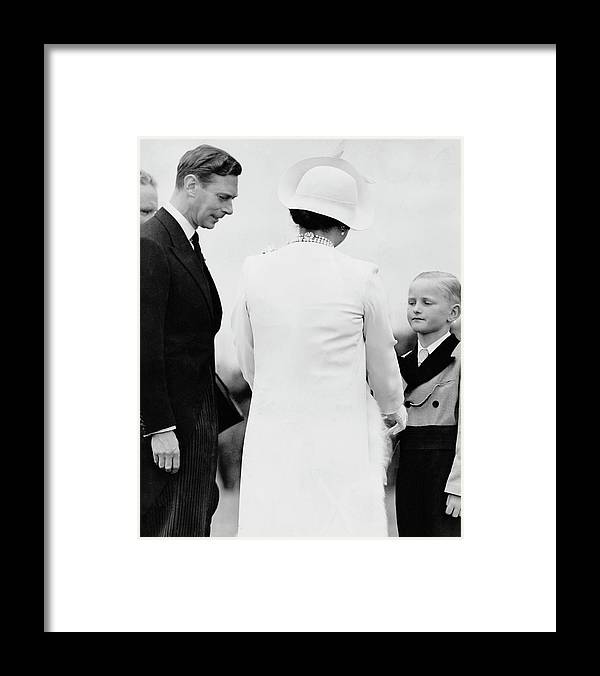 Child Framed Print featuring the photograph Queens White Wardrobe by Keystone