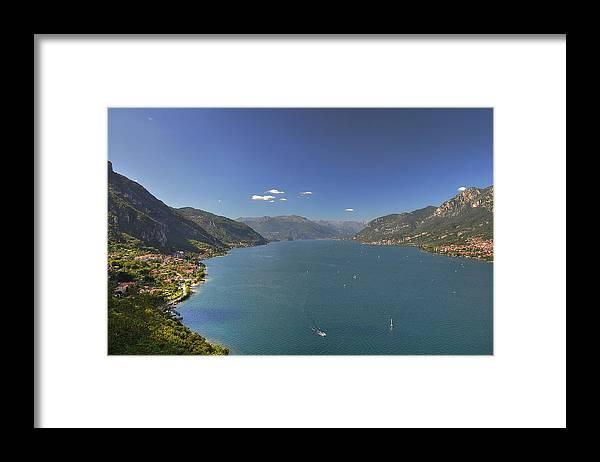 Scenics Framed Print featuring the photograph Quel Ramo Del Lago Di Como by Filippo Maria Bianchi