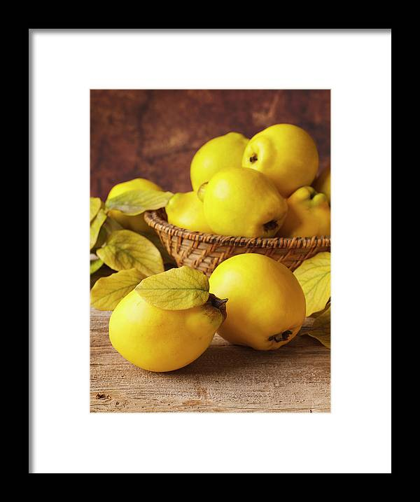 Quince Framed Print featuring the photograph Quinces by Syolacan