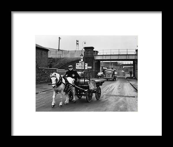 Horse Framed Print featuring the photograph Rag And Bone Man by Cleland Rimmer