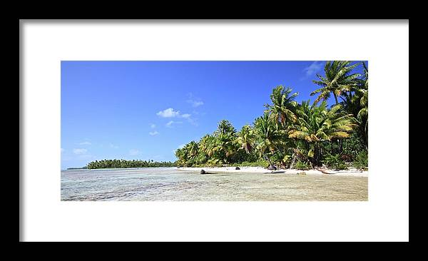 Tranquility Framed Print featuring the photograph Rangiroa - Isola Dei Coralli - Reef Isl by Loving And Living In This Planet