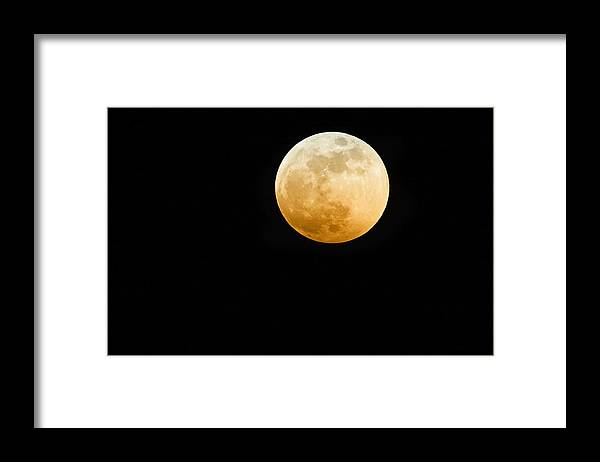 Shadow Framed Print featuring the photograph Red Moon by Stevedangers