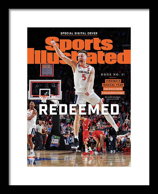 Championship Framed Print featuring the photograph Redeemed University Of Virginia, 2019 Ncaa Champions Sports Illustrated Cover by Sports Illustrated
