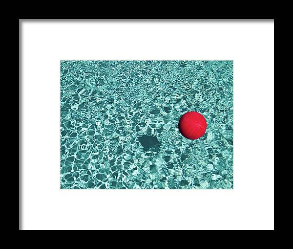 Ball Framed Print featuring the photograph Reflection by Mark A Paulda