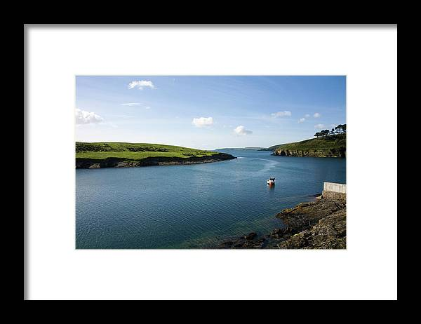 Scenics Framed Print featuring the photograph Republic Of Ireland, County Cork, Inlet by David Epperson
