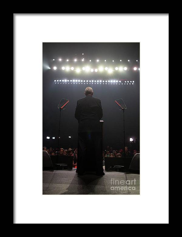 Nominee Framed Print featuring the photograph Republican Presidential Nominee Donald by Scott Eisen